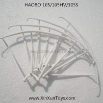 HAOBO Toys H-105 105HV Quadcopter blades guards