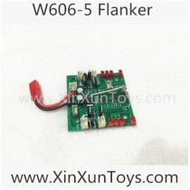 Huajun W606-5 FPV Quadcopter receiver board