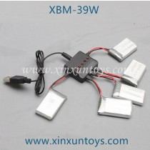 Xiao Bai Ma XBM-39W WIFI FPV Drone USB and Battery