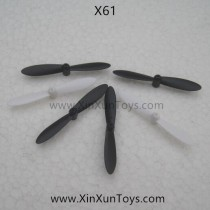 XinXun NO.X61 Quadcopter main blades