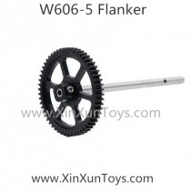 Huajun W606-5 flanker quadcopter big gear with pipe