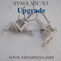 SYMA X5C upgrade motor with metal cooler