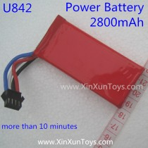 Udi U842 Falcon Power battery 2800mAh